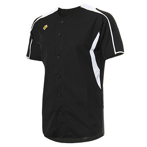 [DESCENTE] S212WLKT12 BASEBALL SHIRT 유니폼 상의 검백