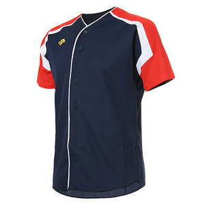 [DESCENTE] S212WLKT10 BASEBALL SHIRT 유니폼 상의 곤적백