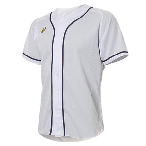 [DESCENTE] S212WLKT09 BASEBALL SHIRT 유니폼 상의 백곤