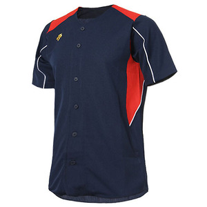 [DESCENTE] S212WLKT06 BASEBALL SHIRT 유니폼 상의 곤적백