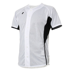[DESCENTE] S212WLKT24 BASEBALL SHIRT 홈유니폼 상의 화이트